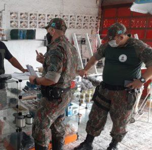 fiscalização relativa a minhocas em Mato Grosso do Sul