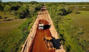 Rodovias na região do Pantanal